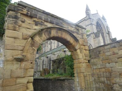 A visit to Hexham with the dog, Northumberland - Driving with Dogs