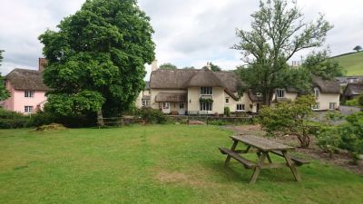 A396 dog-friendly pub and dog walk on Exmoor, Somerset - Driving with Dogs