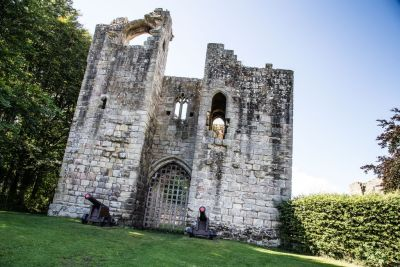 Castle ruins, dog-friendly pub and riverside walks, Northumberland - Driving with Dogs