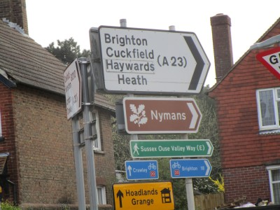 A23 dog walks and dog-friendly pub near Haywards Heath, West Sussex - Driving with Dogs