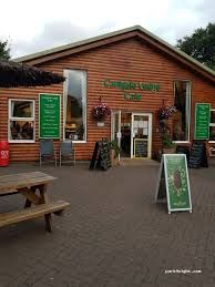 A303 Services near Yeovil with cafe and dog exercising, Somerset - A303 dog exercise and services.jpg