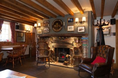 A27 eastbound dog-friendly pub and dog walk near Worthing, West Sussex - Driving with Dogs
