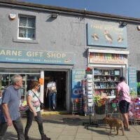 Seahouses tourist town and walks, Northumberland - Seahouses in dog-friendly Northumberland