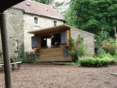 Fabulous dog friendly tea garden and woodland walks, North Yorkshire - Driving with Dogs