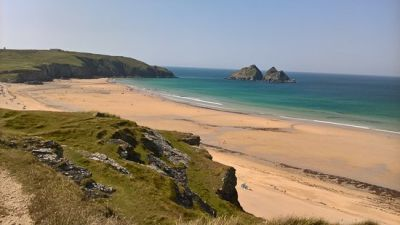 Dog-friendly beach near Perranporth, Cornwall - Driving with Dogs