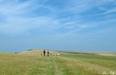 South Downs Way dog walk, East Sussex - Driving with Dogs