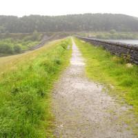 M62 Junction 21 reservoir dog walk and pub, Lancashire