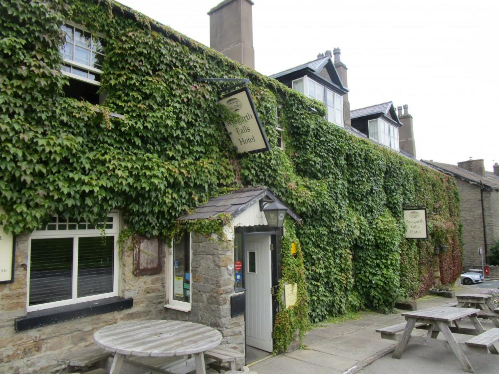 Spectacular Falls dog walk and dog-friendly inn, North Yorkshire - Yorkshire dog-friendly pub and dog walk