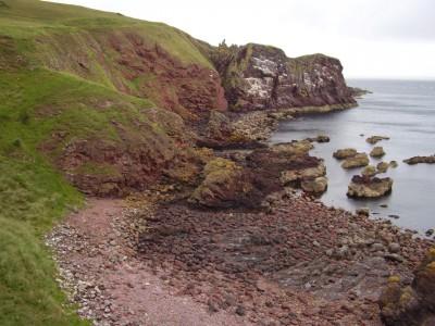 A1 coastal dog walk, Scotland - Driving with Dogs