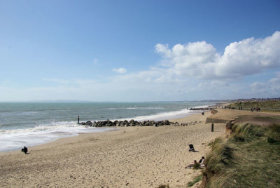 Hengistbury Head dog-friendly beach, Dorset - Driving with Dogs