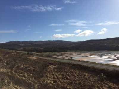 Applecross to Sand Bay dog walk, Scotland - Driving with Dogs