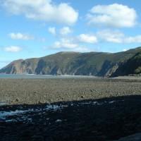 A39 dog-friendly beach and dog walk near Minehead, Devon - Dog walks in Devon