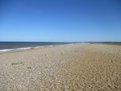 Cley next the Sea dog-friendly beach, Norfolk - Driving with Dogs