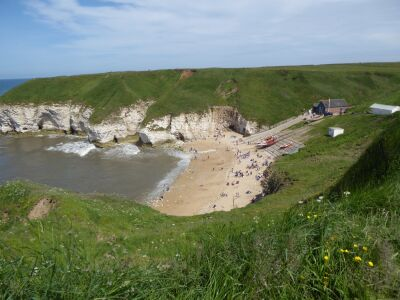 Flamborough dog-friendly beach and walk, East Yorkshire - Driving with Dogs
