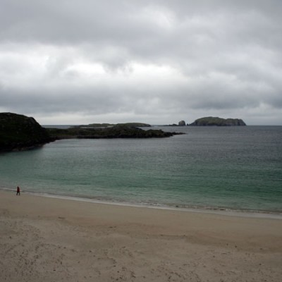 Bostadh dog-friendly beach on the Isle of Lewis, Scotland - Driving with Dogs
