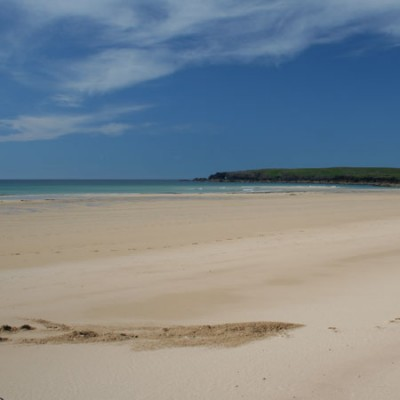 Eoropaid (Europie) dog-friendly beach on the Isle of Lewis, Scotland - Driving with Dogs