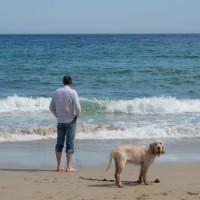 Post Nis dog-friendly beach on the Isle of Lewis, Scotland - Dog walks in Scotland