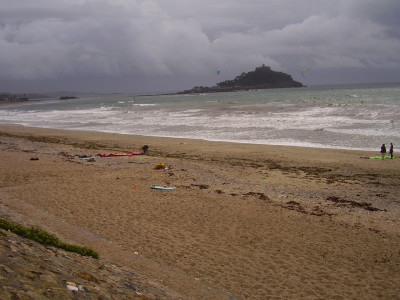 Long Rock dog-friendly beach, Cornwall - Driving with Dogs