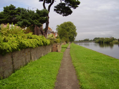 Fiskerton River Trent dog walk, Nottinghamshire - Driving with Dogs