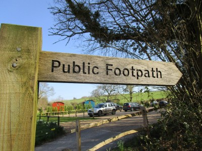 A283 dog walk and dog-friendly pub in the hills, Surrey - Driving with Dogs