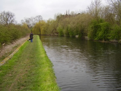 M1 Junction 24 towpath walk, Nottinghamshire - Driving with Dogs