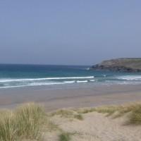 Holywell Bay Beach - dog-friendly, Cornwall