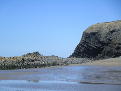 Dog-friendly beach with holiday village and pub, Wales - Driving with Dogs