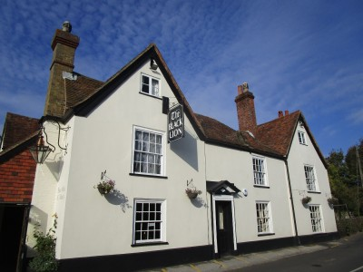 Lynsted dog-friendly pub, Kent - Driving with Dogs