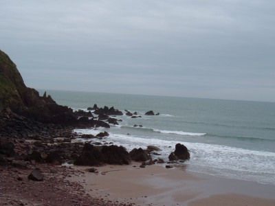 Westdale dog-friendly beach, Pembrokeshire, Wales - Driving with Dogs