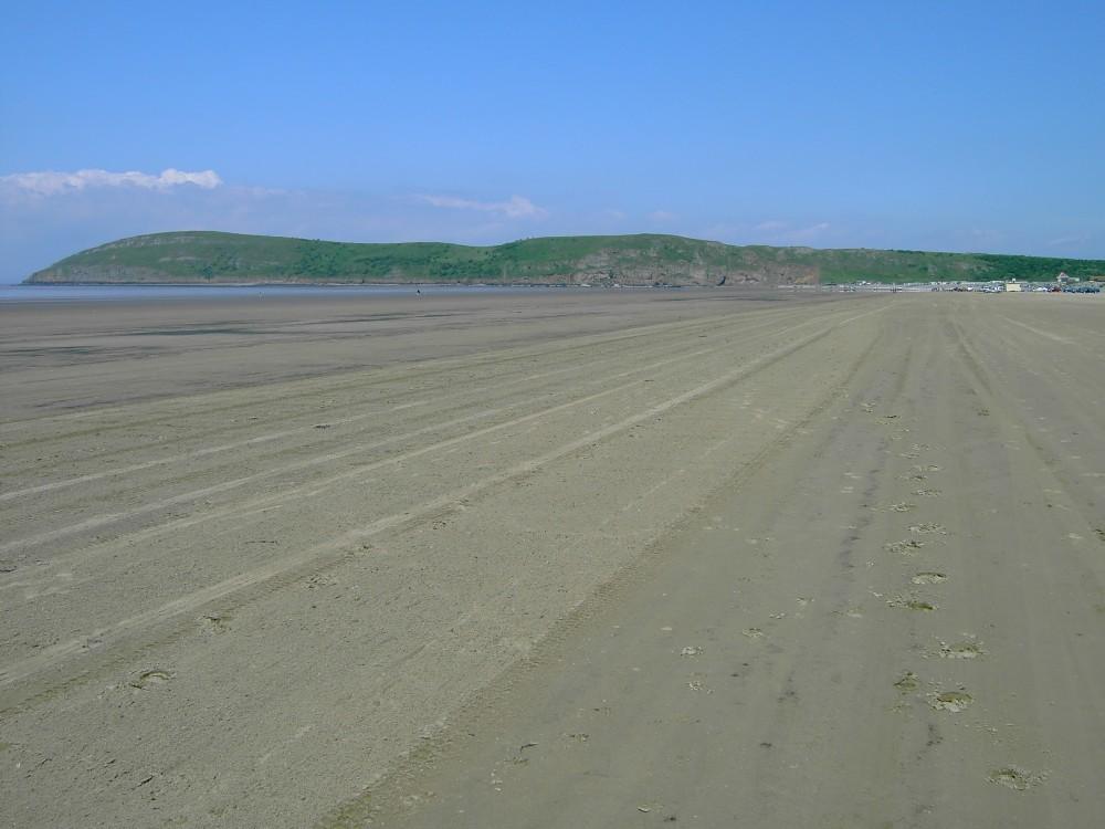 Brean dog-friendly beach, Somerset - Dog walks in Somerset