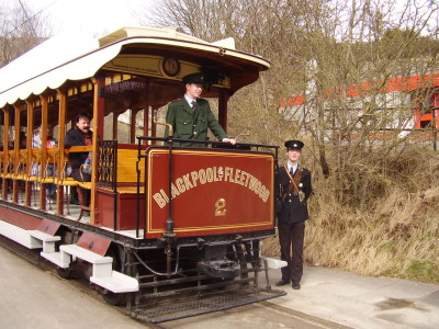 Tram Museum and dog walk, Derbyshire - Driving with Dogs