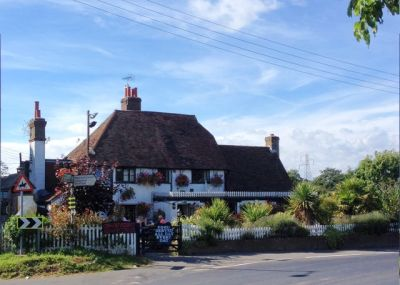 M20 Junction 2 country pub and dog walk, Kent - Driving with Dogs