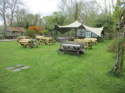 Historic dog-friendly inn with large garden, Suffolk - Driving with Dogs