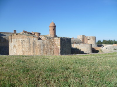 A9 40/41 Salses le Chateau dog walk, France - Driving with Dogs