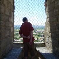 A7 exit 22 doggiestop in a wine village, France - Image 1