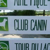 A10 Exit 27 Base de St Cyr doggiestop, France - Image 1