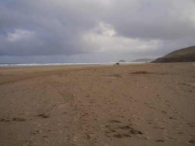 Perranporth dog-friendly beach, Cornwall - Driving with Dogs