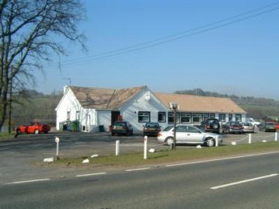 A75 dog-friendly pub and dog walk near Crocketford, Scotland - Driving with Dogs
