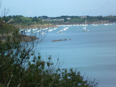 Cancale Coast Path walk with the dog, France - Driving with Dogs