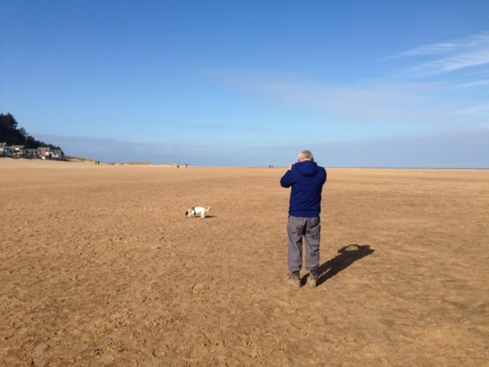 20km of sheer doggie delight Wells next the Sea, Norfolk - IMG_8057.JPG