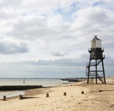 Ferry port dog walk and dog-friendly B&B, Essex - Driving with Dogs