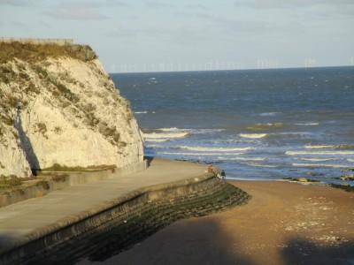 Dumpton Gap dog-friendly beach, Kent - Driving with Dogs