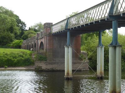 Picnic Area and historic Toll Bridge, North Yorkshire - Driving with Dogs