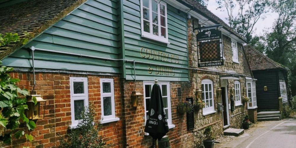 Dog-friendly pub near Otford, Kent - Kent dog-friendly pubs.jpg