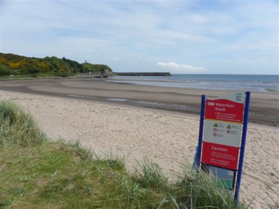 Waterfoot dog-friendly beach, NI - Driving with Dogs