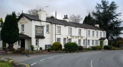 Ship Inn dog-friendly pub near Milnthorpe, Cumbria - Driving with Dogs