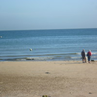 Luc-sur-Mer dog friendly beach, France - Image 2