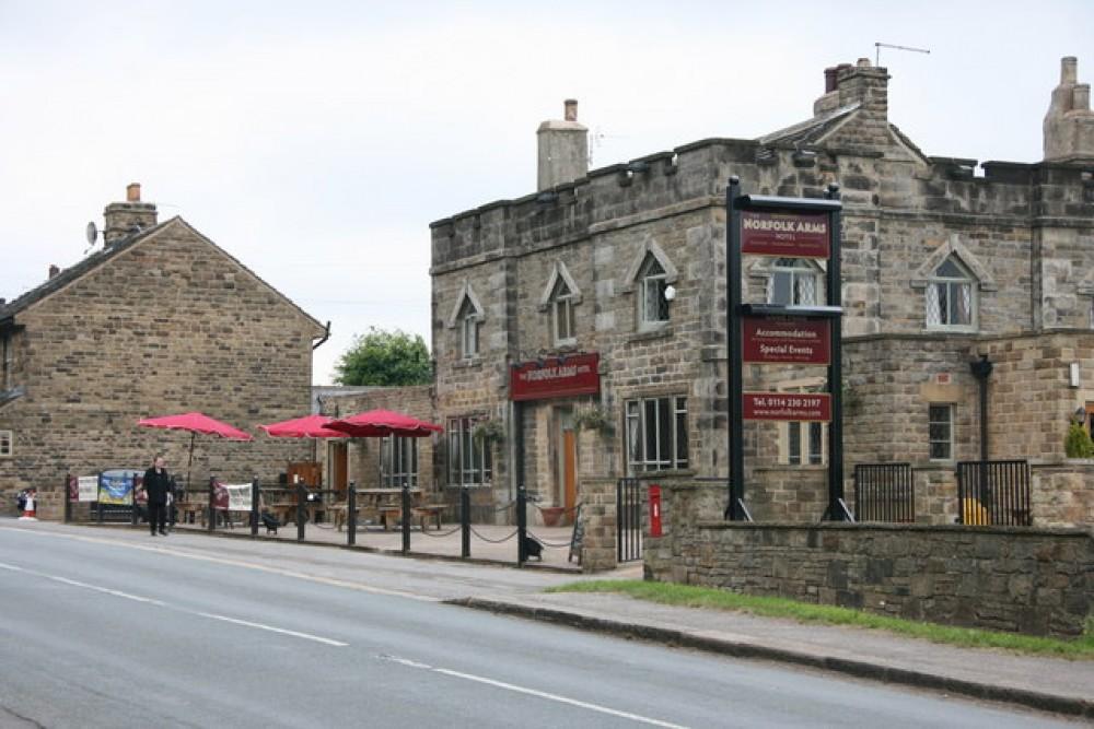 Ringinglow dog-friendly pub near Sheffield, South Yorkshire - Dog walks in Yorkshire