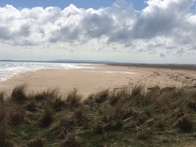 A9 dog-friendly beach at Dornoch, Scotland - Driving with Dogs