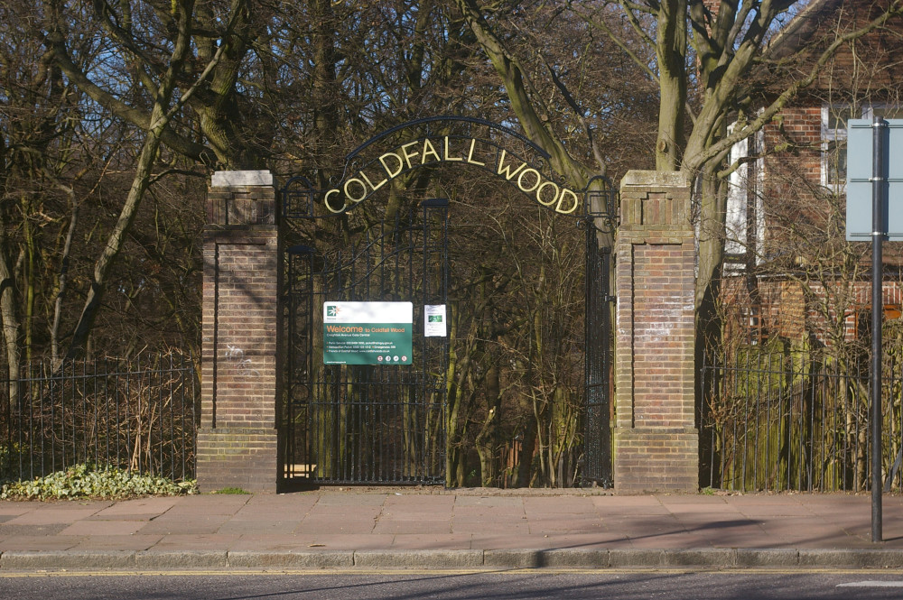 Coldfall Wood local dog walk, Greater London - Dog walks in Greater London